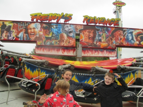 We loved seeing all the rides.