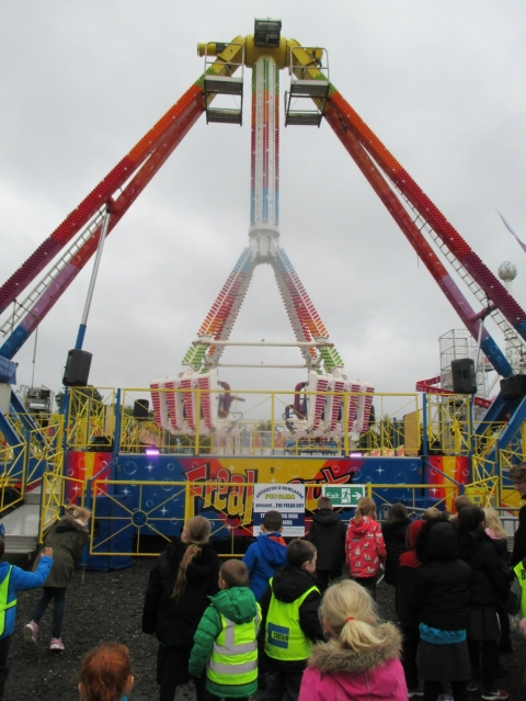 The rides just kept getting bigger and bigger!