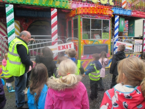 We learnt so much about the history of Barnstaple Fair.